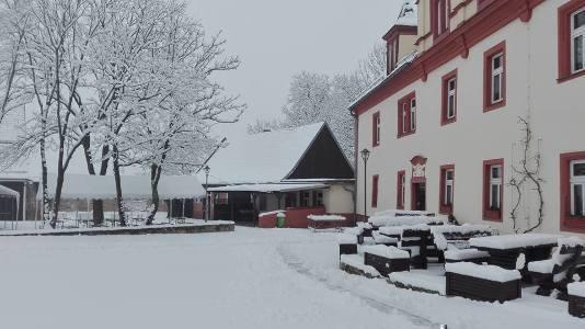 Jugendherberge Bad Sulza im Schnee