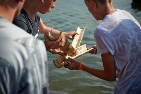 Teamwork im Camp